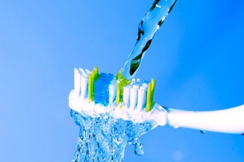 importancia de lavarse los dientes